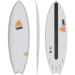 """PRANCHA DE SURF AL MERRICK 6'6"""" PODMOD X-LITE GRAY"""