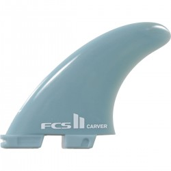 QUILHAS FCS II CARVER L GLASS FLEX TRI FIN SET