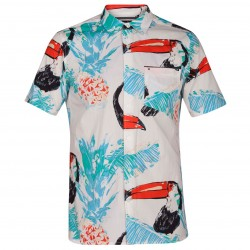 CAMISA HURLEY TOUCAN WHITE
