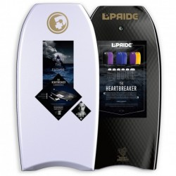 "PRANCHA BODYBOARD PRIDE 40"" HEARTBREAKER PP HD PIERRE LOUIS COSTES WHITE/BLACK"