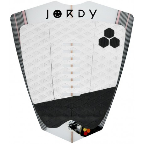 9f98f885de4 DECK CHANNEL ISLANDS JORDY SMITH ARCH WHITE BLACK - PIPELINE SURF ...