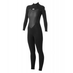 FATO DE SURF RIP CURL OMEGA 4.3MM BACK ZIP BLACK