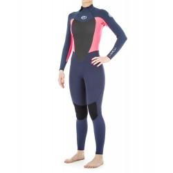 FATO DE SURF RIP CURL OMEGA 4.3MM BACK ZIP NEON PINK