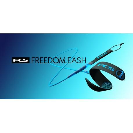 "LEASH FCS 6´0"" FREEDOM BLACK"