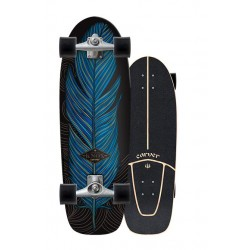 "SKATE CARVER KNOX QUILL 31.25"" CX COMPLETE"