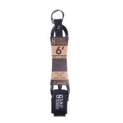 "LEASH SLATER DESIGNS 6´0"" COMP BLACK"