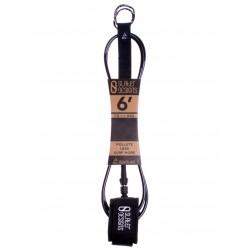 "LEASH SLATER DESIGNS 6´0"" REGULAR BLACK"