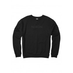 SWEAT NIXON BASICA WORDMARK BLACK
