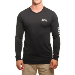 LONG SLEEVE HURLEY JJF PARALLEL BLACK