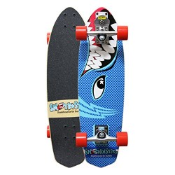 "SKATE SMOOTHSTAR 30"" BARRACUDA BLUE"