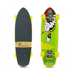 "SKATE SMOOTHSTAR 30"" BARRACUDA GREEN/YELLOW"