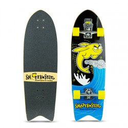"SKATE SMOOTHSTAR 32"" FLYING FISH YELLOW/BLACK"