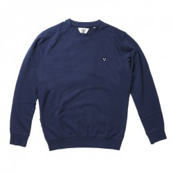 SWEAT VISSLA MFG CREW NAVAL
