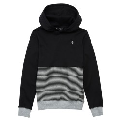 SWEAT VOLCOM THREEZY BLACK