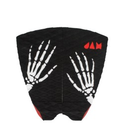 DECK JAM 2 PIECE SKELETON BLACK RED