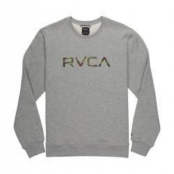 SWEAT RVCA BASIC BIG ATHLETIC HEATHER