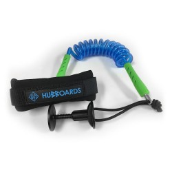 LEASH HUBBOARDS COMP BICEP CLEAR BLUE