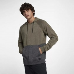 SWEAT HURLEY CRONE BLOCKED OLIVE