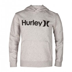 SWEAT HURLEY BOYS SURF CHECKED GREY