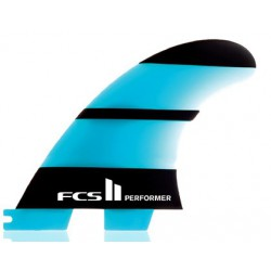 FCS II PERFORMER NEO GLASS MEDIUM TRI FIN SET
