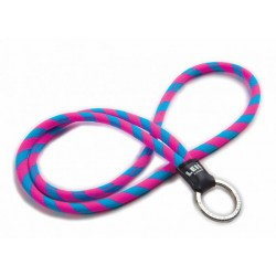 PORTA CHAVES LEIS HAWAII ORIGINAL LANYARDS BLUE/PINK