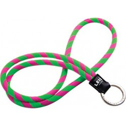 PORTA CHAVES LEIS HAWAII ORIGINAL LANYARDS GREEN/PINK