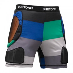 BURTON TOTAL IMPACT SHORTS TURF POP STRIPE