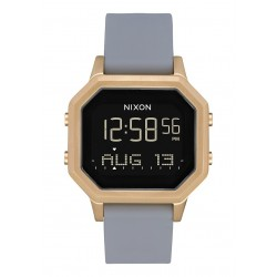 RELÓGIO NIXON SIREN SS LIGHT/GOLD/GRAY