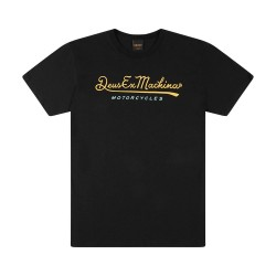 T-SHIRT DEUS EX MACHINA 2ND BASE BLACK