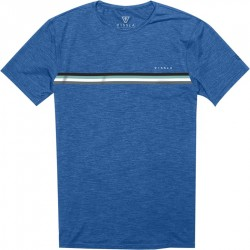 T-SHIRT VISSLA  THE TRIP ROYAL HEATHER