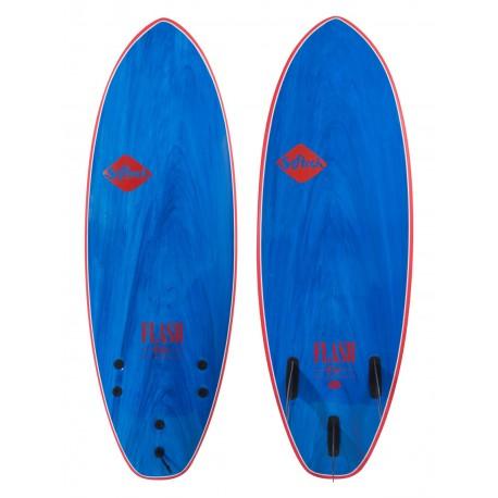 """PRANCHA DE SURF SOFTECH 6´0"""" FLASH ERIC GEISELMAN BLUE/MARBLE"""
