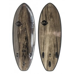 "PRANCHA DE SURF SOFTECH 5´7"" FLASH SOFTBOARD BLACK/MARBLE"