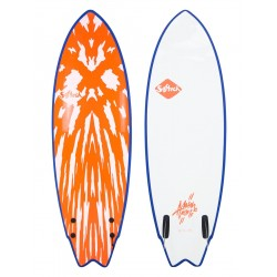 "PRANCHA DE SURF SOFTECH 5´6"" MASON TWIN NEO RED/WHITE"
