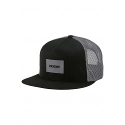 BONÉ NIXON TEAM TRUCKER BLACK/CHARCOAL