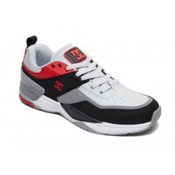 TÉNIS DC E. TRIBEKA BLACK/ATHLETIC RED