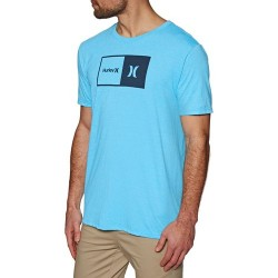T-SHIRT HURLEY SIRO NATURAL BLUE FURY HTR