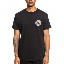 T-SHIRT DC CIRCLESTRFBSS2 BLACK