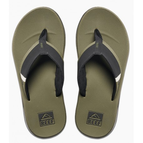 CHINELOS REEF FANNING LOW OLIVE