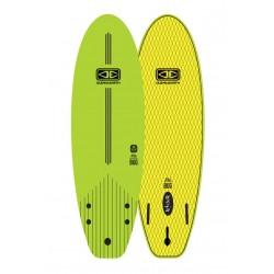 "PRANCHA DE SURF 5´6"" OCEAN & EARTH BUG MINI SOFTBOARD LIME"