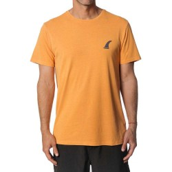 T-SHIRT RIP CURL SURF EMBLEM SS ORANGE