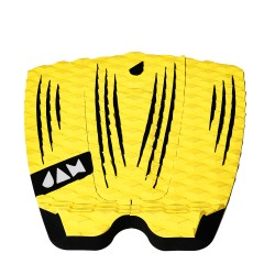 DECK JAM RECKLESS YELLOW/BLACK STRIPES