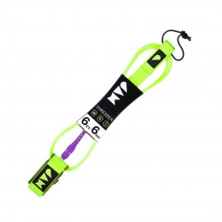 "LEASH JAM SHREDDER UP 6´0"" 6MM FLUOR YELLOW/PURPLE"