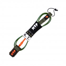 "LEASH JAM STEP UP 6´0"" 7MM DARK/GREEN"