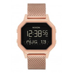 RELÓGIO NIXON SIREN MILANESE ALL ROSE GOLD