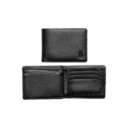 CARTEIRA NIXON PASS VEGAN LEATHER BLACK