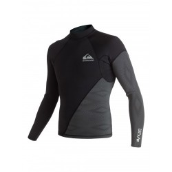 LYCRA QUIKSILVER SYNCRO NEW WAVE 1MM L/S BLACK