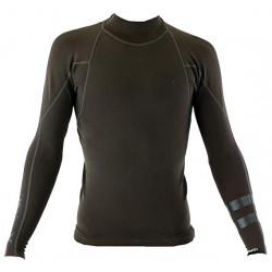 LYCRA HURLEY FUSION 1MM 101 JACKET VELVET BROWN