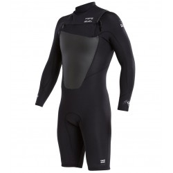 FATO DE SURF BILLABONG 2.2MM FOIL LS CZ BLACK