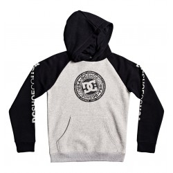 SWEAT DC BOYS CIRCLE STAR GREY/BLACK