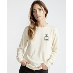 LONG SLEEVE BILLABONG HIGH TIDE ANTIQUE WHITE
